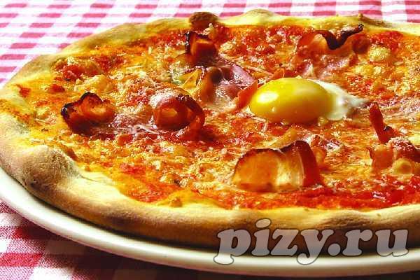 """Пицца """"Carbonara"""""""