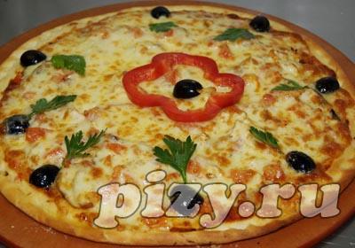 """Пицца """"Кура с грибами"""""""