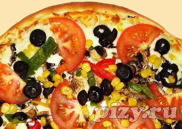 """Пицца """"Вегетарианская"""" от """"SPBпицца"""""""