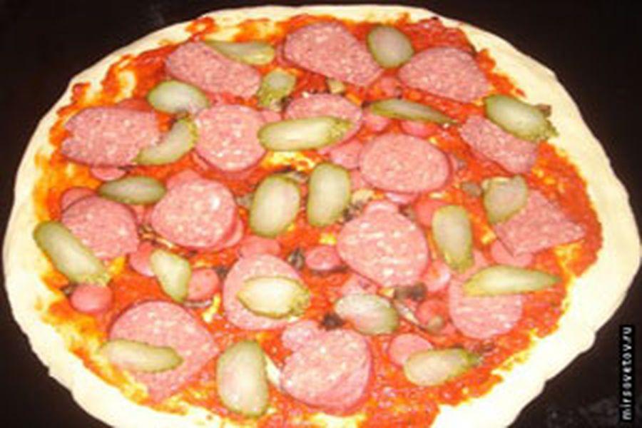 домашние приготовление пиццы