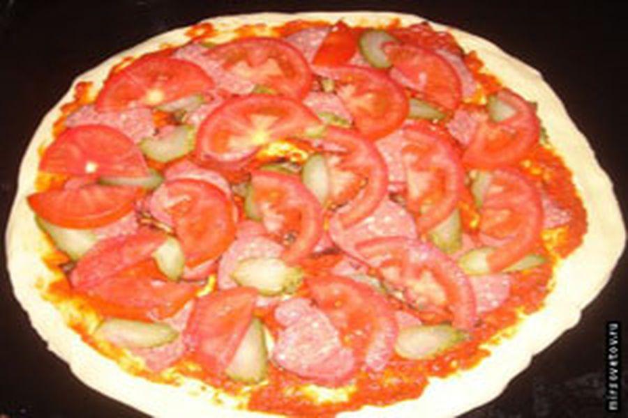 пицца способ приготовления