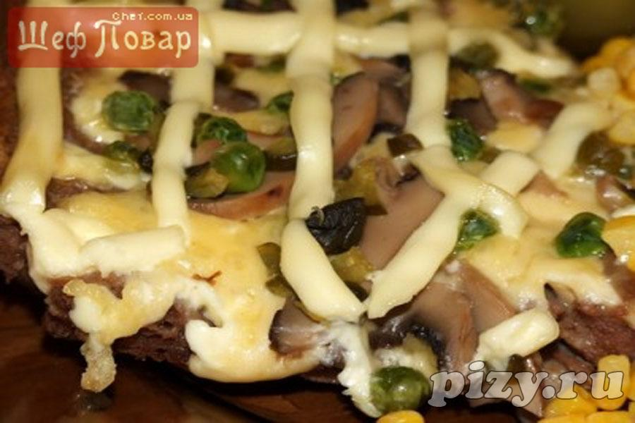 рецепт пицца фарш