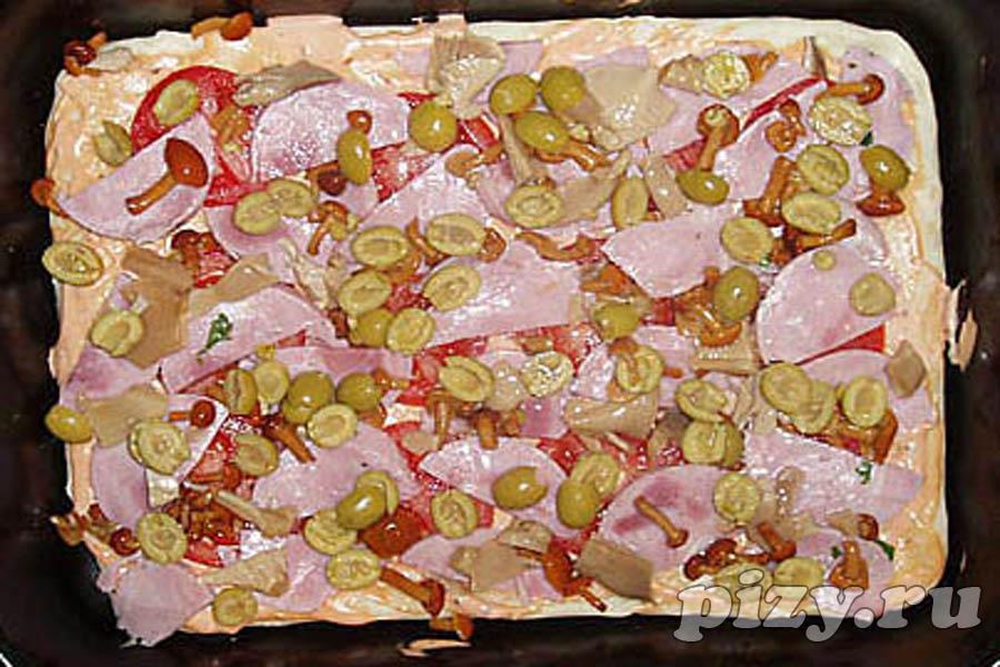 Рецепт пиццы на слоёном тесте Доставка пиццы (заказ пиццы на сайте), отзывы о пиццериях и доставке пиццы в Москве, Петербурге, Е