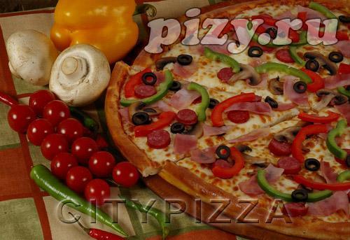 """Пицца """"Акадо"""" от """"CITY pizza"""", Москва"""
