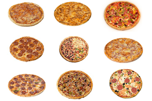 Пиццы от Пицца Фабрика