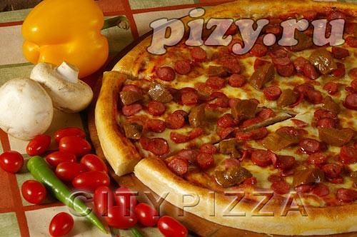 "Пицца ""Фермерская"" от ""CITY pizza"", Москва"