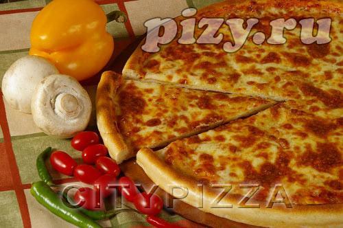 """Пицца """"Маргарита"""" от """"CITY pizza"""", Москва"""