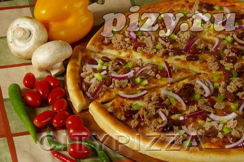 "Пицца ""Мексиканская"" от ""CITY pizza"", Москва"