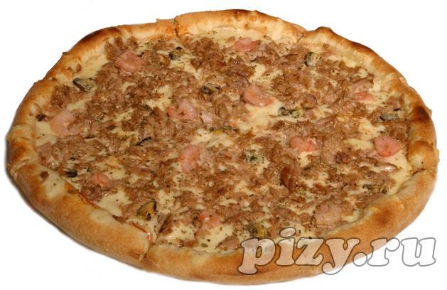 """Пицца """"Морская"""" от """"Ital-pizza"""", Москва"""