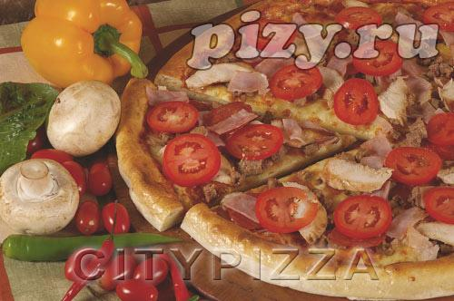 """Пицца """"Мясное ассорти"""" от """"CITY pizza"""", Москва"""