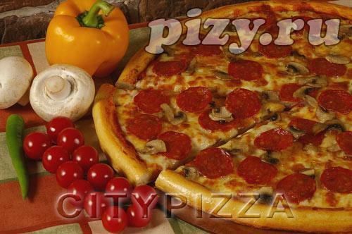 """Пицца """"Пепперони"""" от """"CITY pizza"""", Москва"""