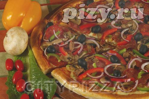 """Пицца """"Сити-Суприм"""" от """"CITY pizza"""", Москва"""