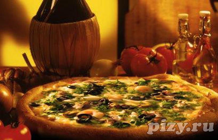 """Пицца """"Дары моря"""" от """"Превед! Pizza"""", Москва"""