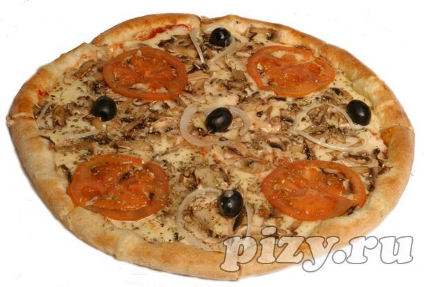 """Пицца """"Вегетарианская"""" от """"Ital-pizza"""", Москва"""