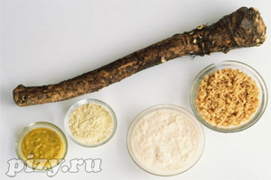 Рецепты соусов с хреном: Сметанный соус с хреном