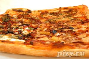 Рецепт домашней пиццы на тонком тесте