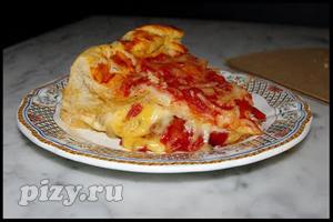 Рецепт фаршированной пиццы по-чикагски