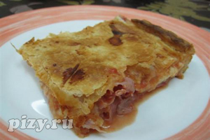 Рецепт пиццы Парижская Неаполитана