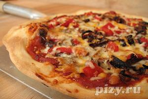 Рецепт тонкой домашней пиццы