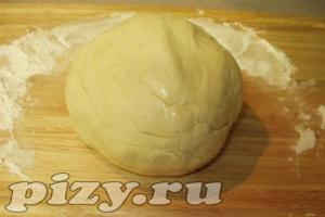 Рецепт яичного теста для пиццы