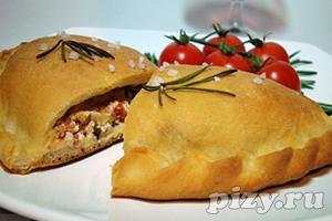 Рецепт закрытой пиццы Мини Кальцоне
