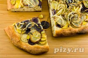 Фото рецепты: Рецепт картофельной пиццы с розмарином