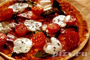 Пицца на пшеничных лепешках