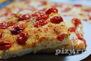 Рецепт пиццы по-итальянски