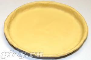 Рецепт чикагского песочного теста для пиццы