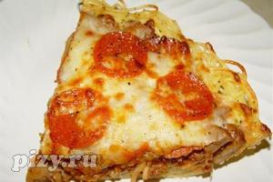 Рецепт итальянской пиццы без теста