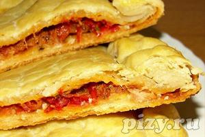 Галисийская пицца-пирог