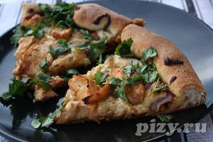 Калифорнийская пицца с курицей
