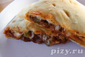 Рецепт итальянской пиццы Кальцоне