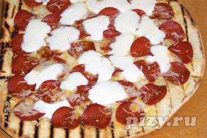 Пошаговые фото-рецепты: пицца на гриле