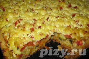 Видео-рецепт вегетарианской пиццы Русская душа