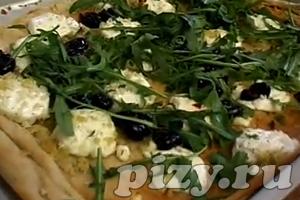 Видео-рецепт Пиццы с козьим сыром от Юлии Высоцкой